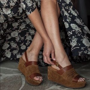 Trask Suede Sandals in Teak 8